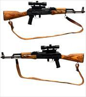 C.N. Romarm G.P. Wasr-10 Semi-Automatic Rifle W/ Scope