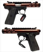 Ruger Mark IV Lite 22/45 Rim-Fire Pistol w/ Bronze Anodized Finish
