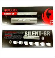 Ruger Silent-SR .22LR Suppressor