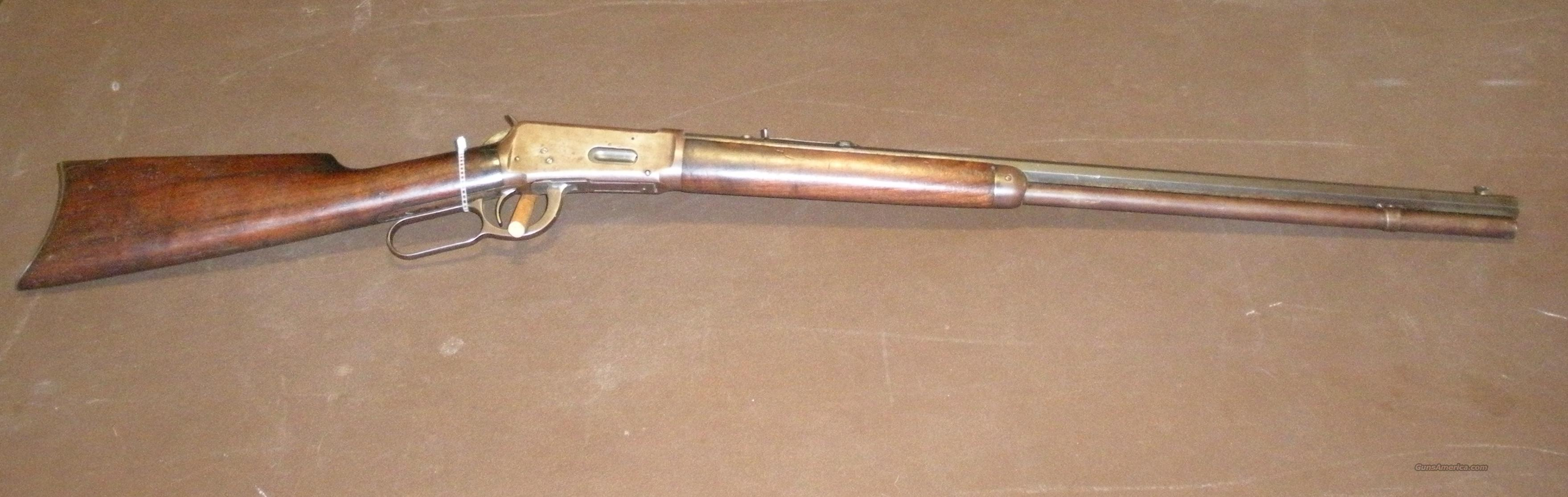 WINCHESTER MODEL 94 30 WCF LEVER ACTION BUILD IN 1917