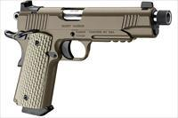 Kimber Desert Warrior TFS .45 ACP Dark Earth Pistol with Night Sights