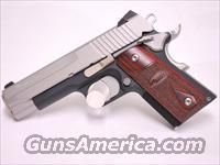 Sig Sauer 1911 C3, .45 ACP two tone compact