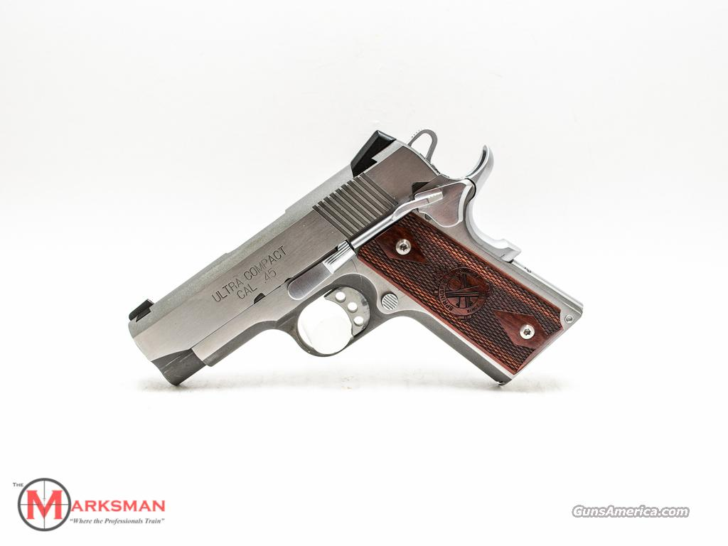 Springfield 1911 Stainless Ultra Compact 45 ACP USED