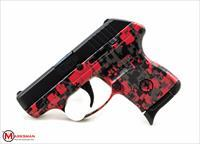 Ruger Red Digital Camo LCP, .380 ACP, Davidson's Exclusive NEW