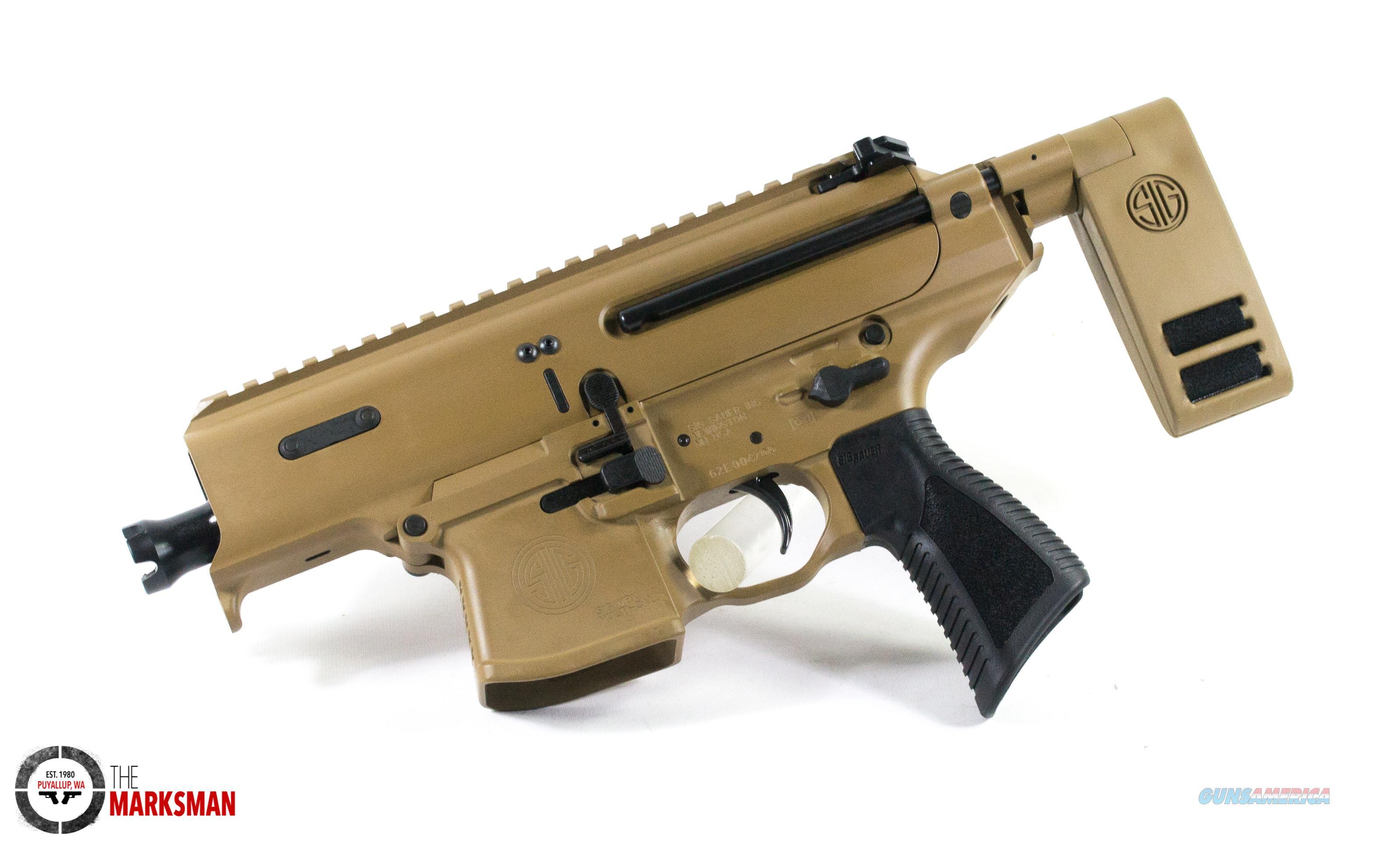 Sig Sauer MPX Copperhead Pistol, 9mm