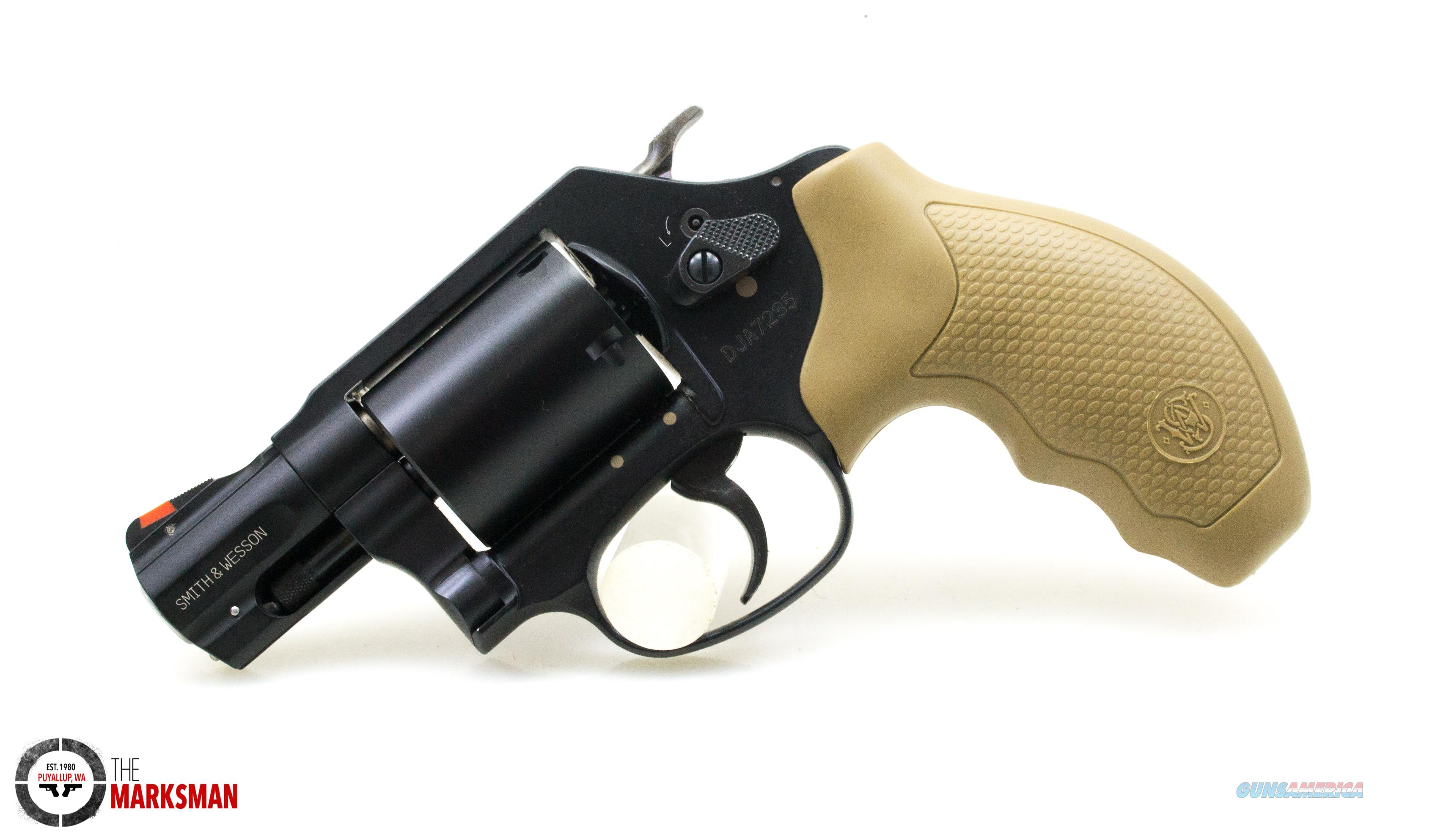 Smith and Wesson 360 Airweight,  357 Magnum