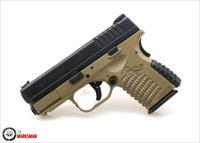 Springfield Flat Dark Earth XDS 45, .45 ACP, Davidson's Exclusive