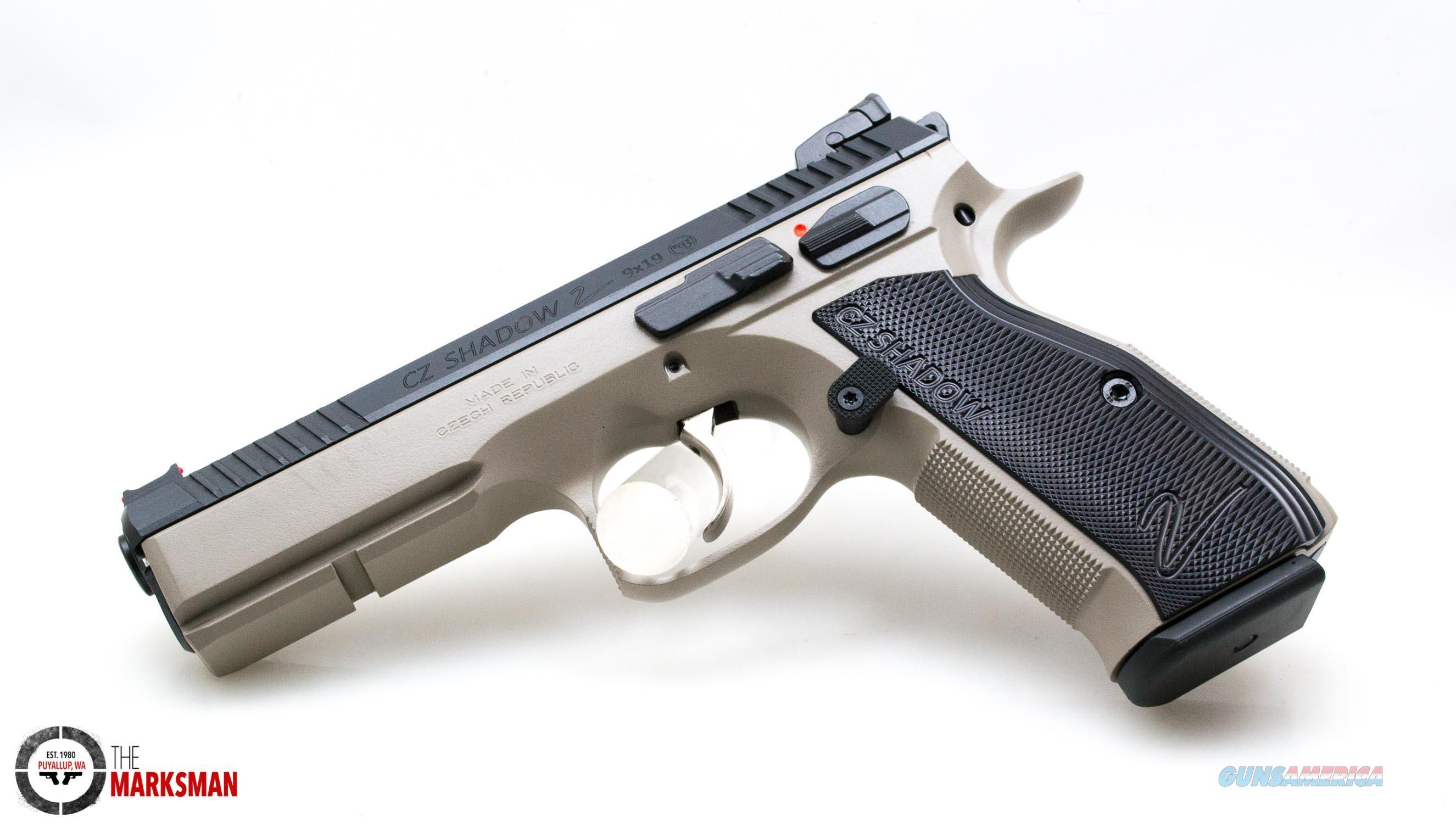 CZ SP-01 Shadow 2, 9mm NEW Urban Gray 91255