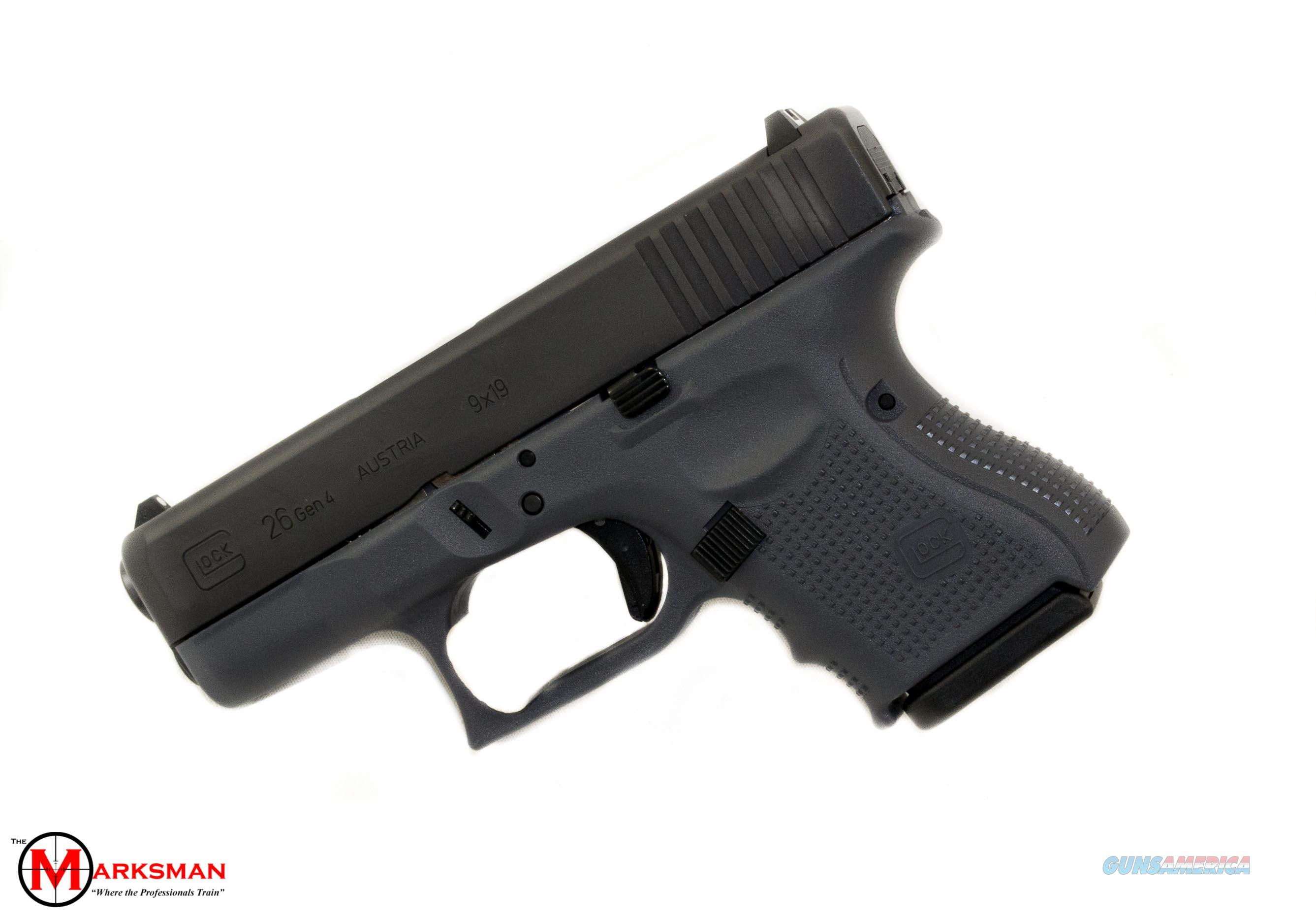 Glock 26 Generation 4 9mm Gray for sale