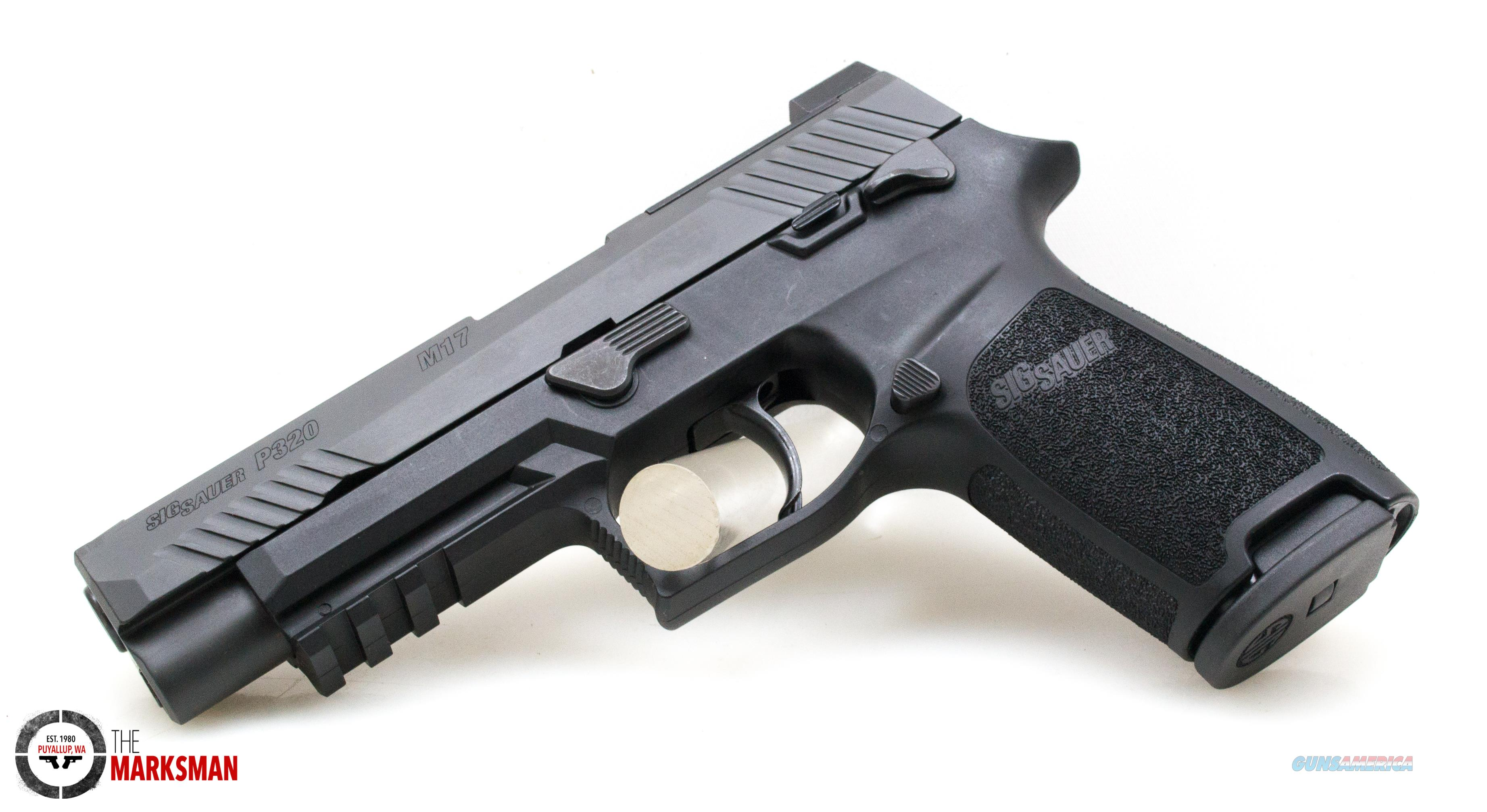Sig Sauer P320 M17, 9mm, Manual Safety NEW Talo Exclusive