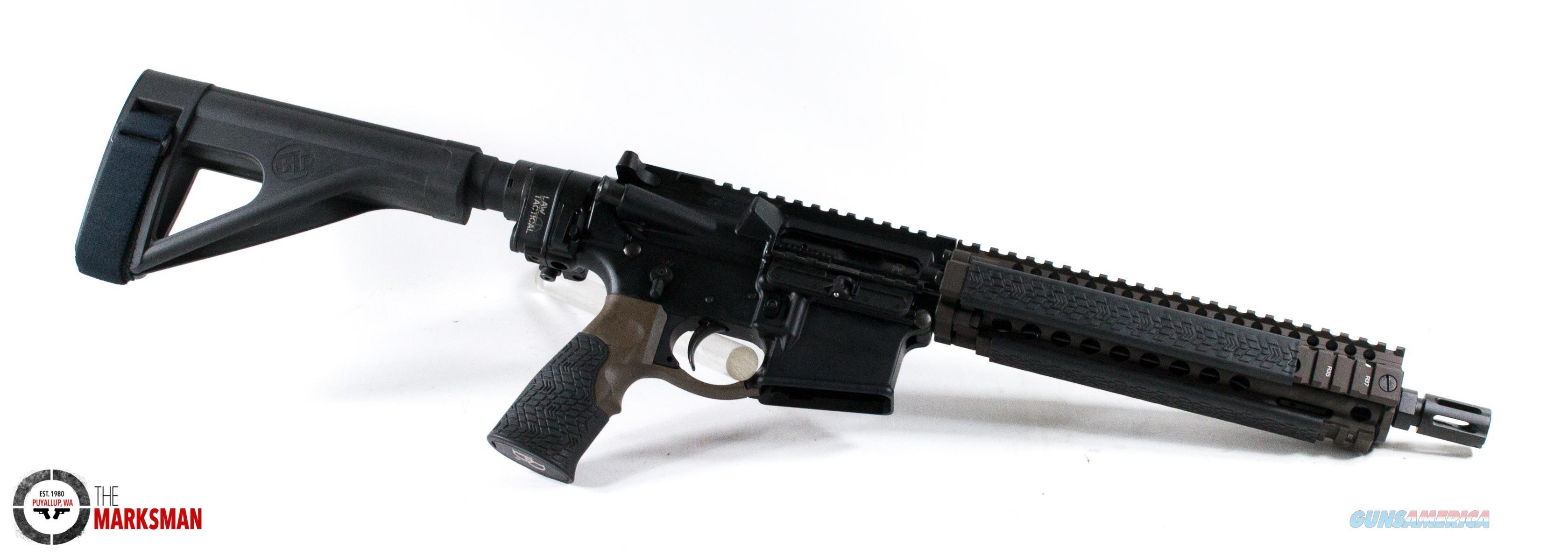 Daniel Defense MK18 Pistol, 5 56mm NATO NEW Law Tactical Gen III Folding  Stock Adaptor, Free Shipping
