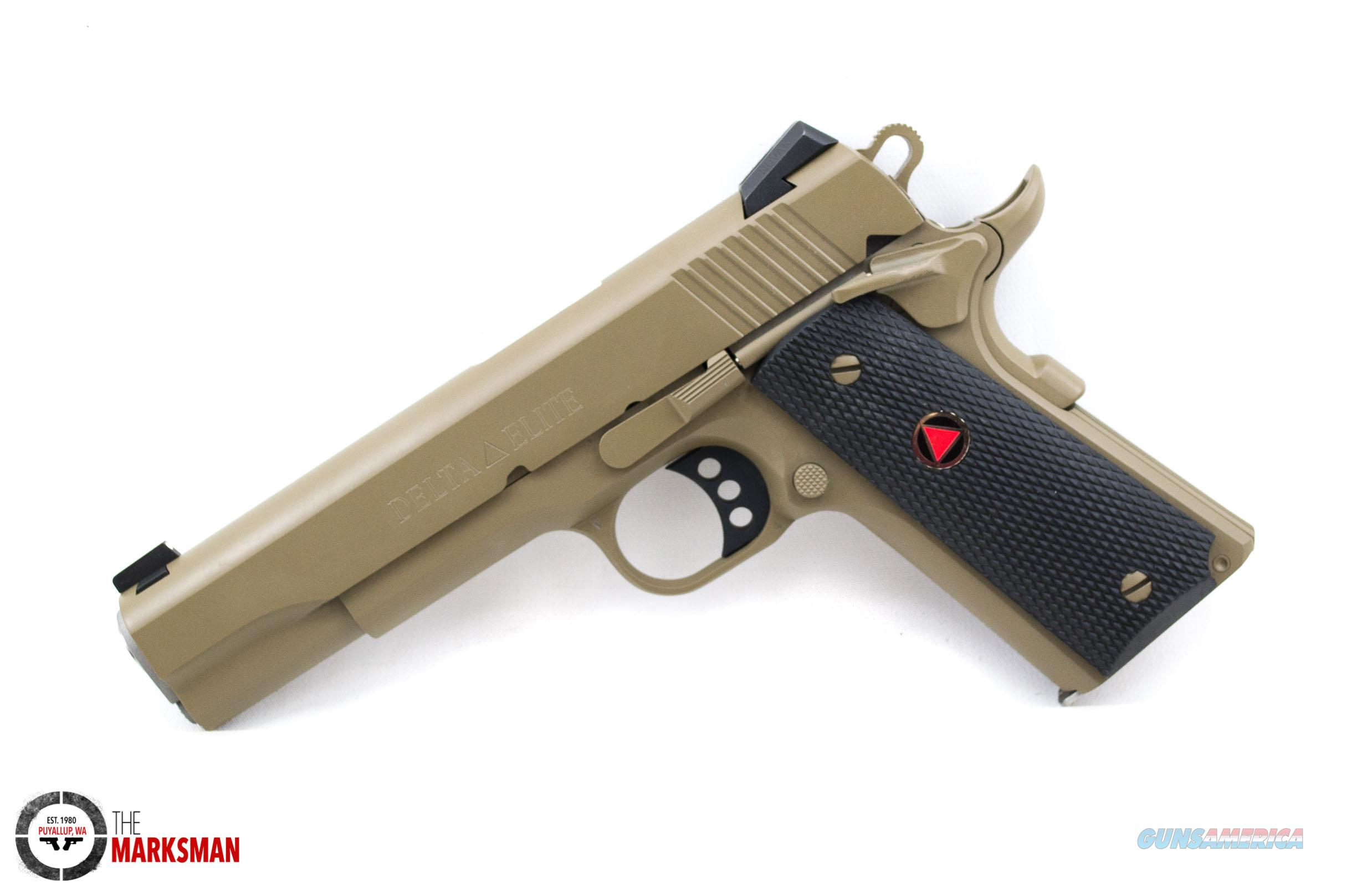 Colt Delta Elite 10mm Flat Dark Earth For Sale
