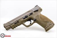 Smith and Wesson M&P9 M2.0 9mm NEW Flat Dark Earth, Thumb Safety, 5""