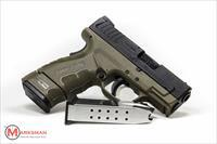 Springfield XD Subcompact Mod 2, 9mm, Flat Dark Earth NEW