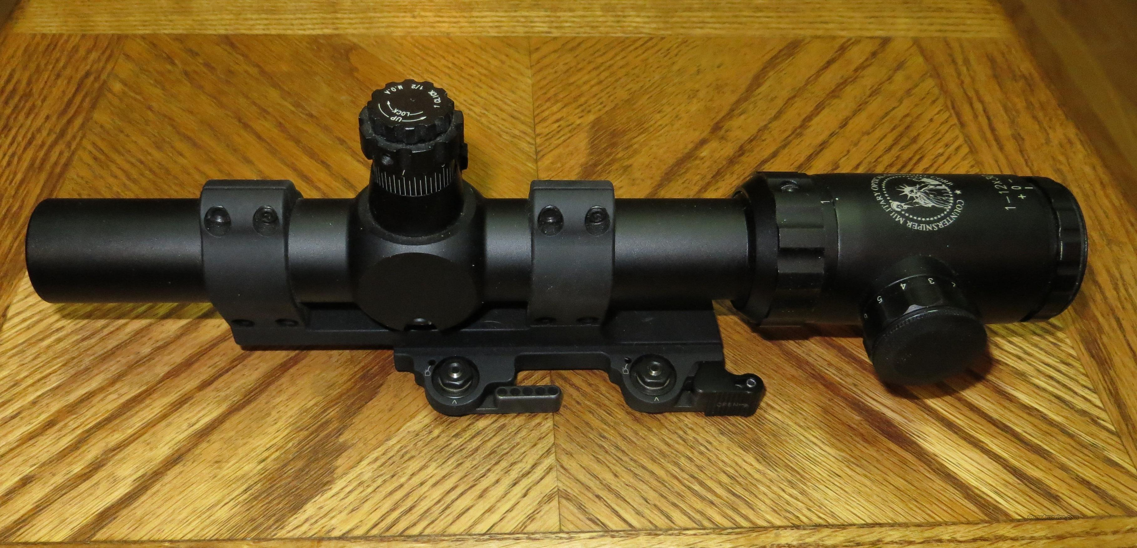 LaRue Tactical 20 MOA PSR Scope Mount QD, LT112