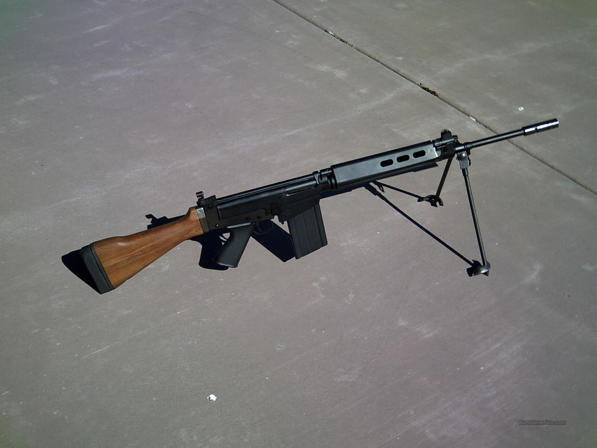 SPRINGFIELD ARMORY SAR 48 4800 MATCH  308 308 FN FAL TYPE