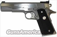 Colt  Gold  Cup Trophy Stainless Steel  45  ACP