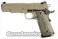Sig Sauer 1911R SCORPION 45ACP Night Sights FDE SLITE