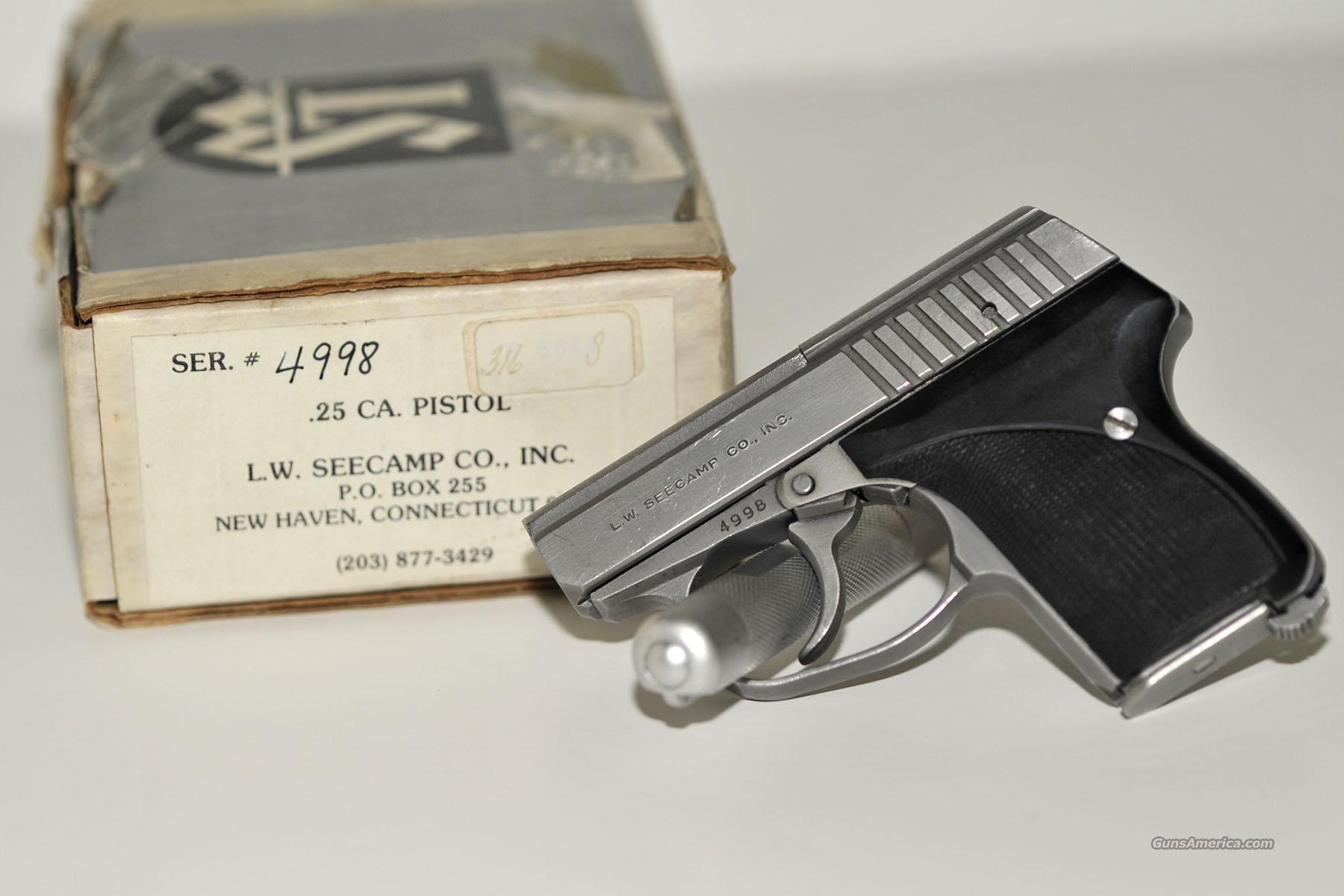 Seecamp 25 acp Semi-Auto Pistol Collectible