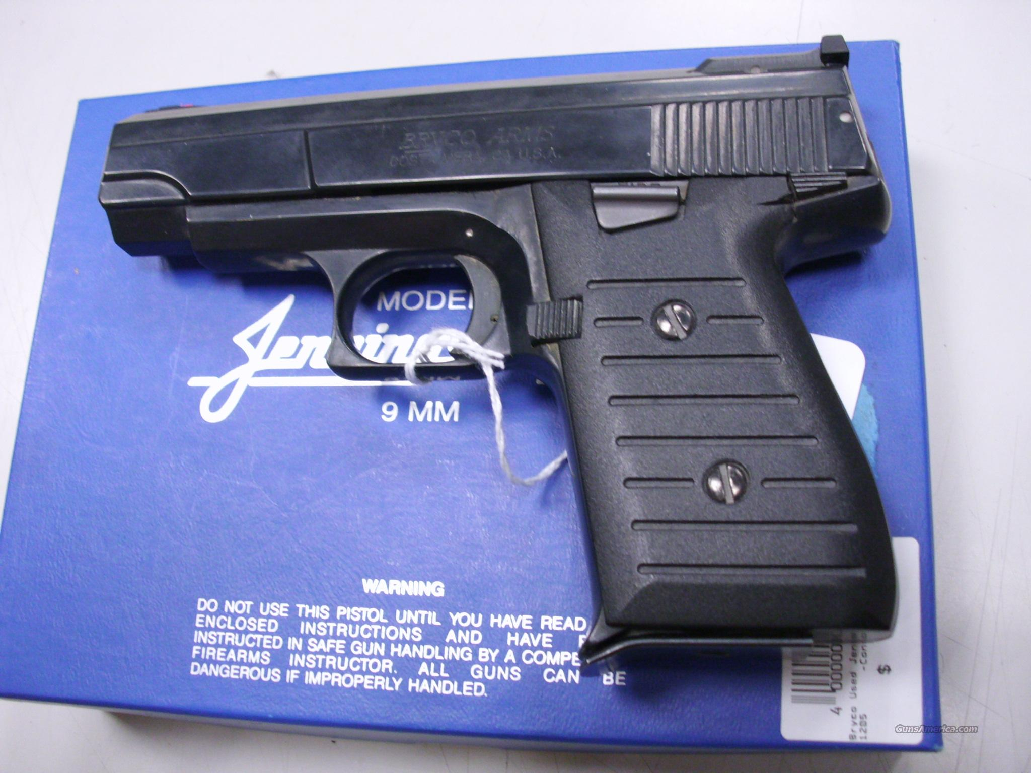 Bryco jennings 9mm for sale.