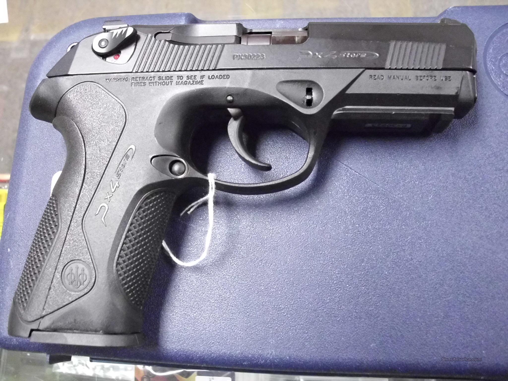 Beretta PX4 Storm 9mm Used Guns >