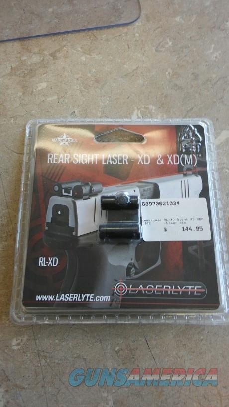 Laser Lyte Rear Sight XD & XDM NIB NO CC FEES