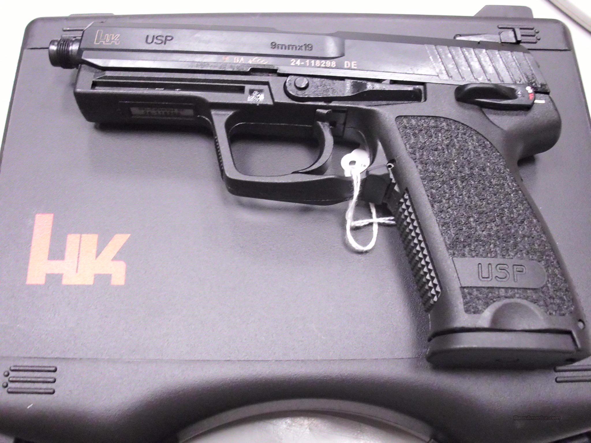 HK USP Tactical 9mm Threaded Barrel NEW