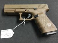 Glock 19 Gen 4 Full FDE 9mm NIB NO CC FEES