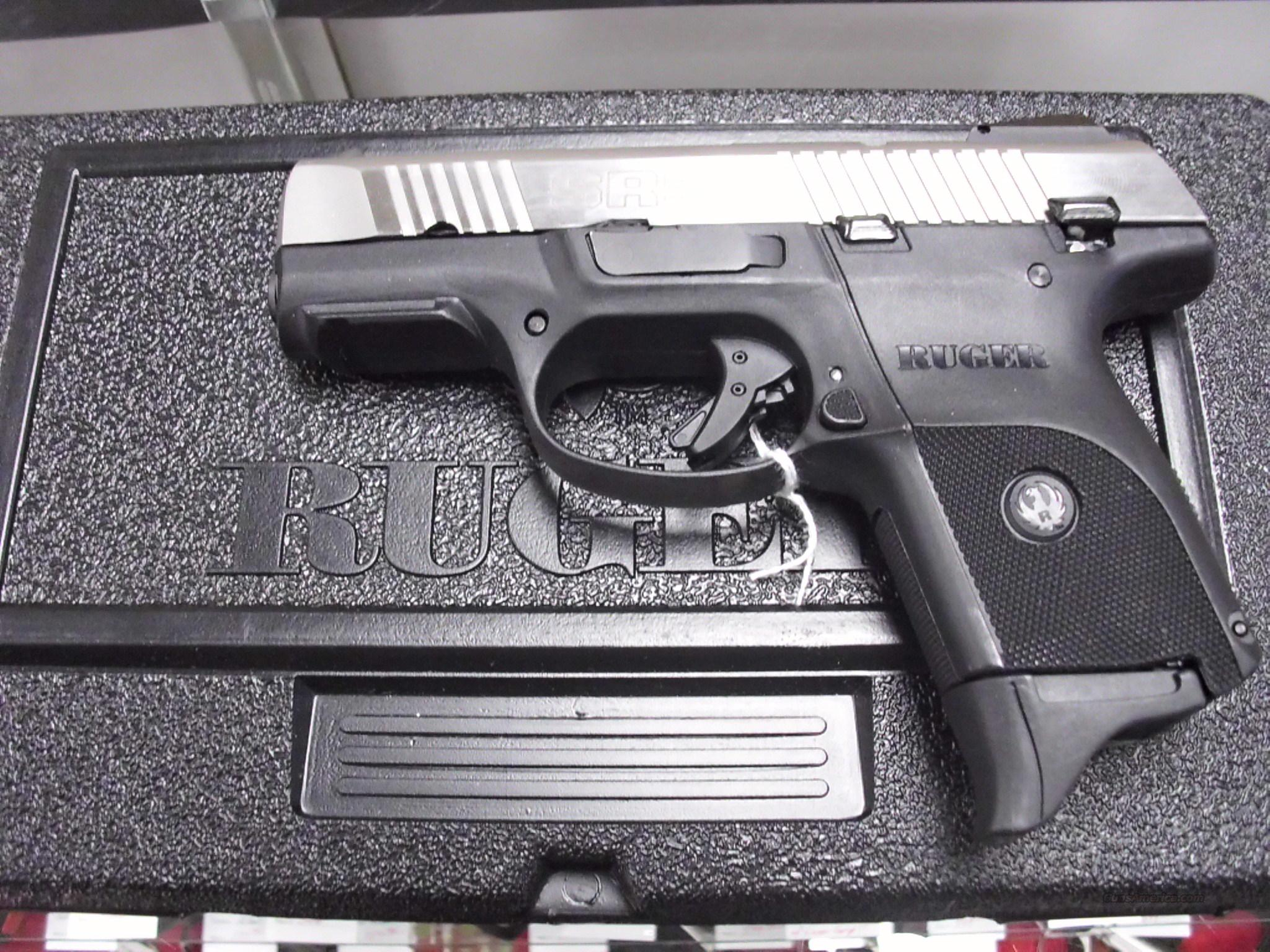 Ruger SR9C Two Tone 9mm Used