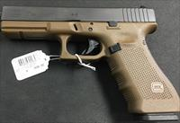 Glock 17 GEN 4 FDE 9mm NIB NO CC FEES