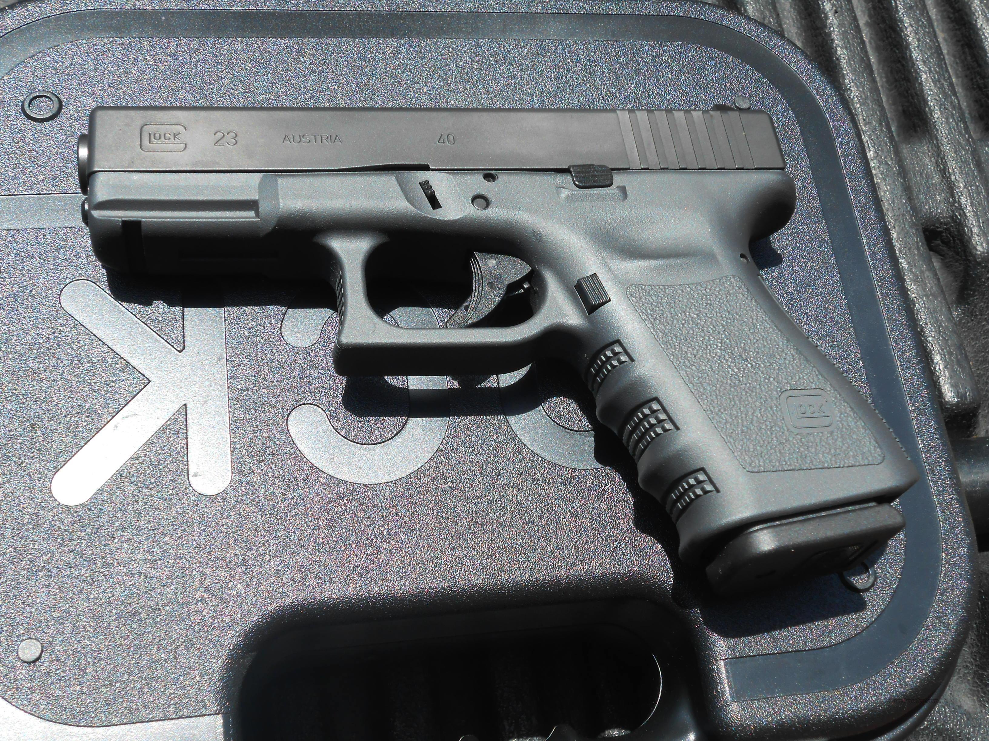 Glock 23 Gen 3 A TCC Sniper Grey Frame NEW for sale