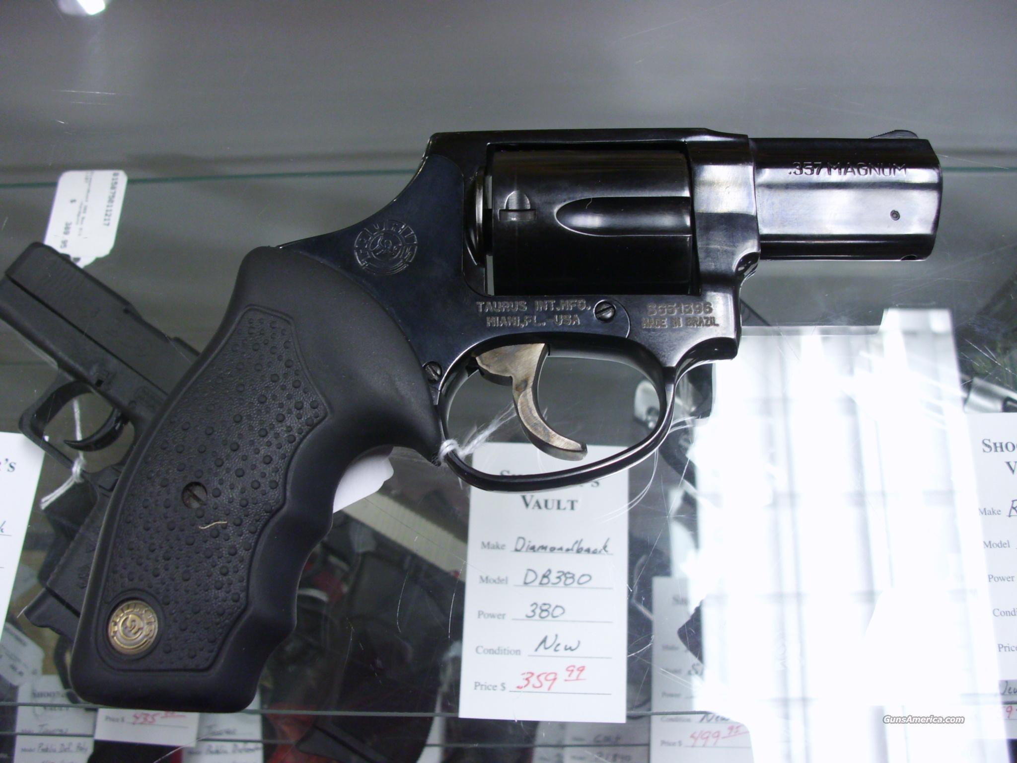 Taurus 605 Hammerless 357MAG Black Used
