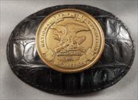 NRA Belt Buckle