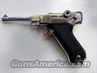 Luger 1940 9mm Nickel/new barrel