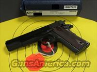 "COLT 1911 GOVERNMENT MODEL 5"" 38 SUPER (02991)"