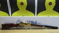 "CIMARRON/UBERTI 1866 SHORT RIFLE, .45 COLT LEVER ACTION RIFLE, 5 SHOT TUBE FED, 20"" OCTAGON BARREL"