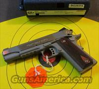 COLT 1911 GOVERNMENT W/RAIL BRUSHED STAINLESS .45ACP (01070RG)