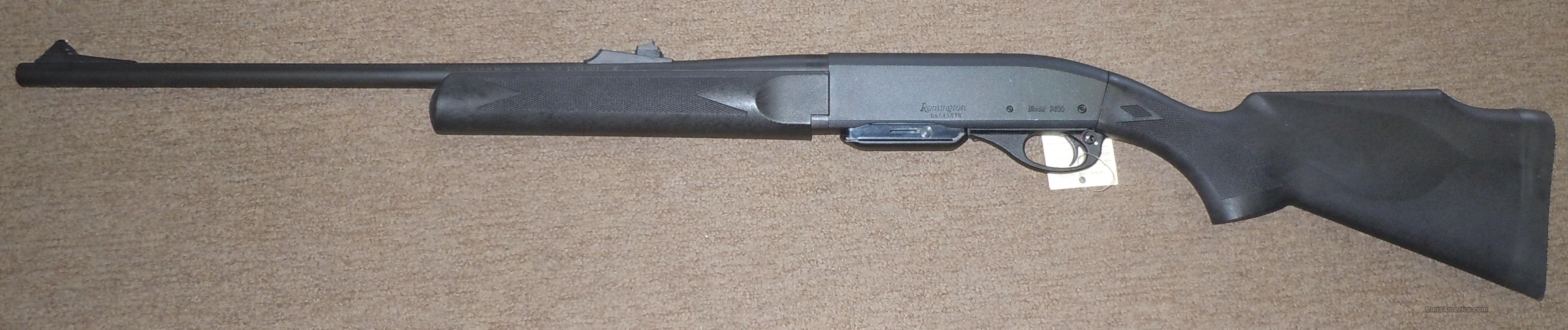 Remington 7400 30 06 synthetic stock auto loadi for sale 3993626g sciox Choice Image