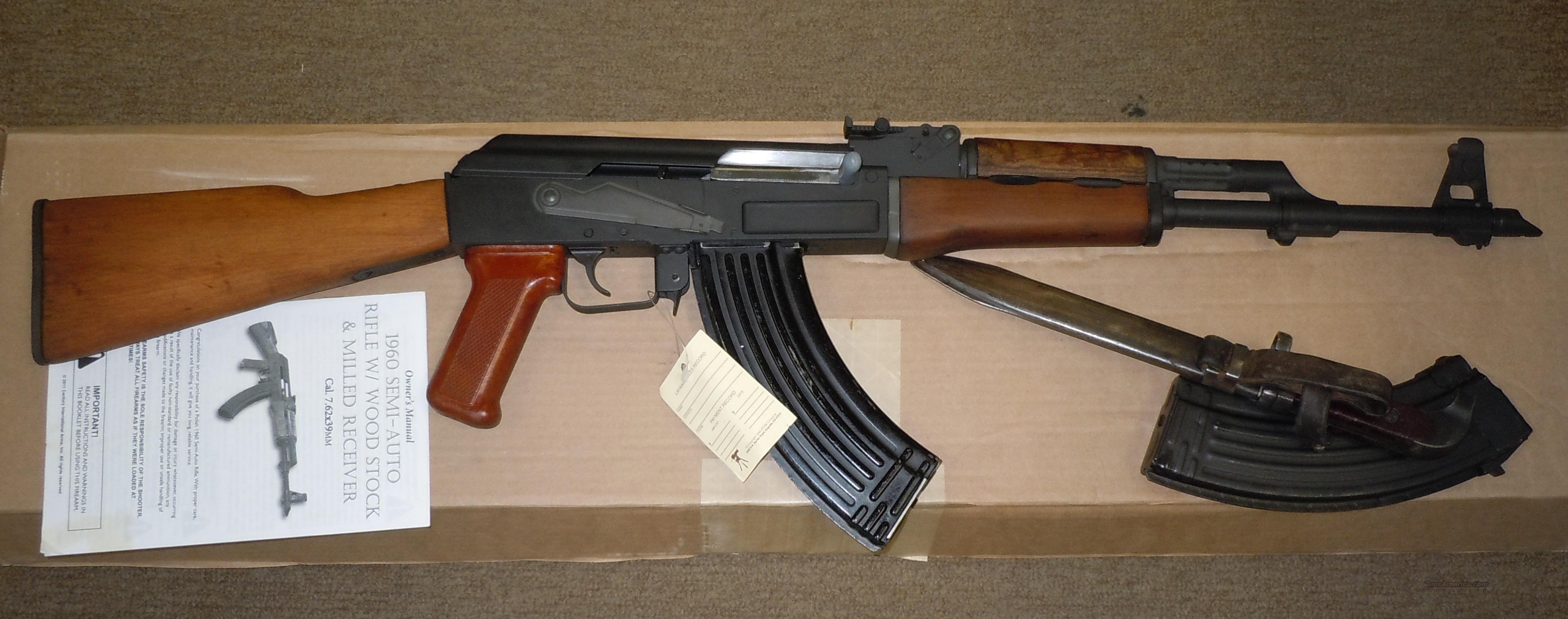 CENTURY ARMS 1960 7 62X39 AK-47 RIFLE *MILLED POLISH RECEIVER