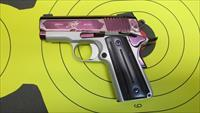 "KIMBER AMETHYST ULTRA II .45ACP PISTOL, 7 ROUND MAGAZINE WITH 3"" BARREL"