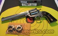 "RUGER SUPER BLACK HAWK HUNTER KS-47NHB 7.5"" STAINLESS 44 MAGNUM (00862)"