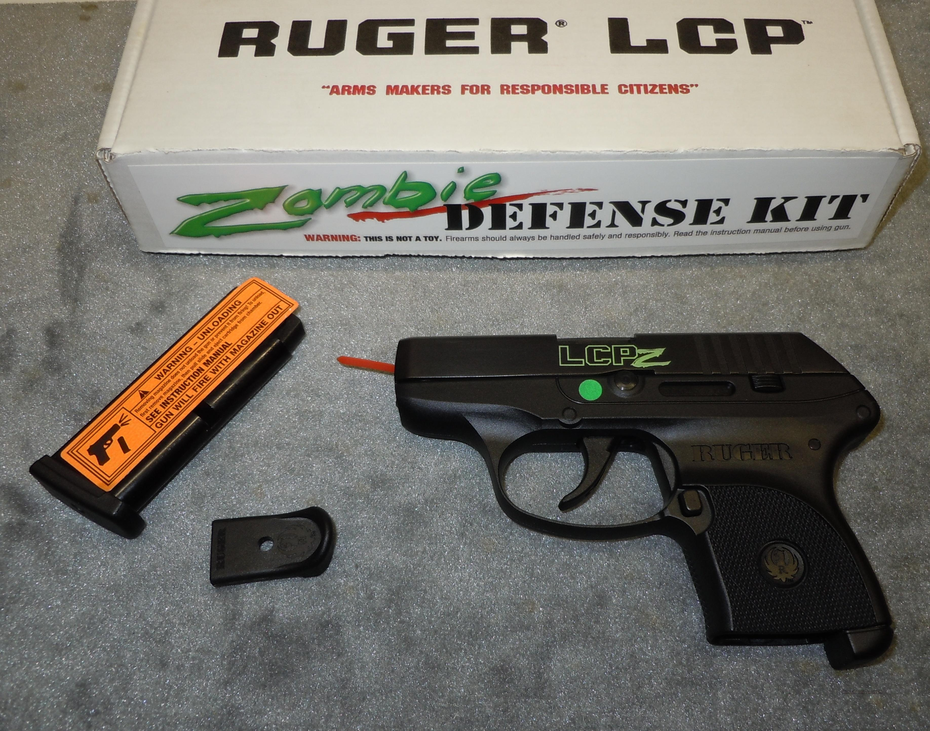 RUGER LCP 380 ACP ZOMBIE DEFENSE KIT