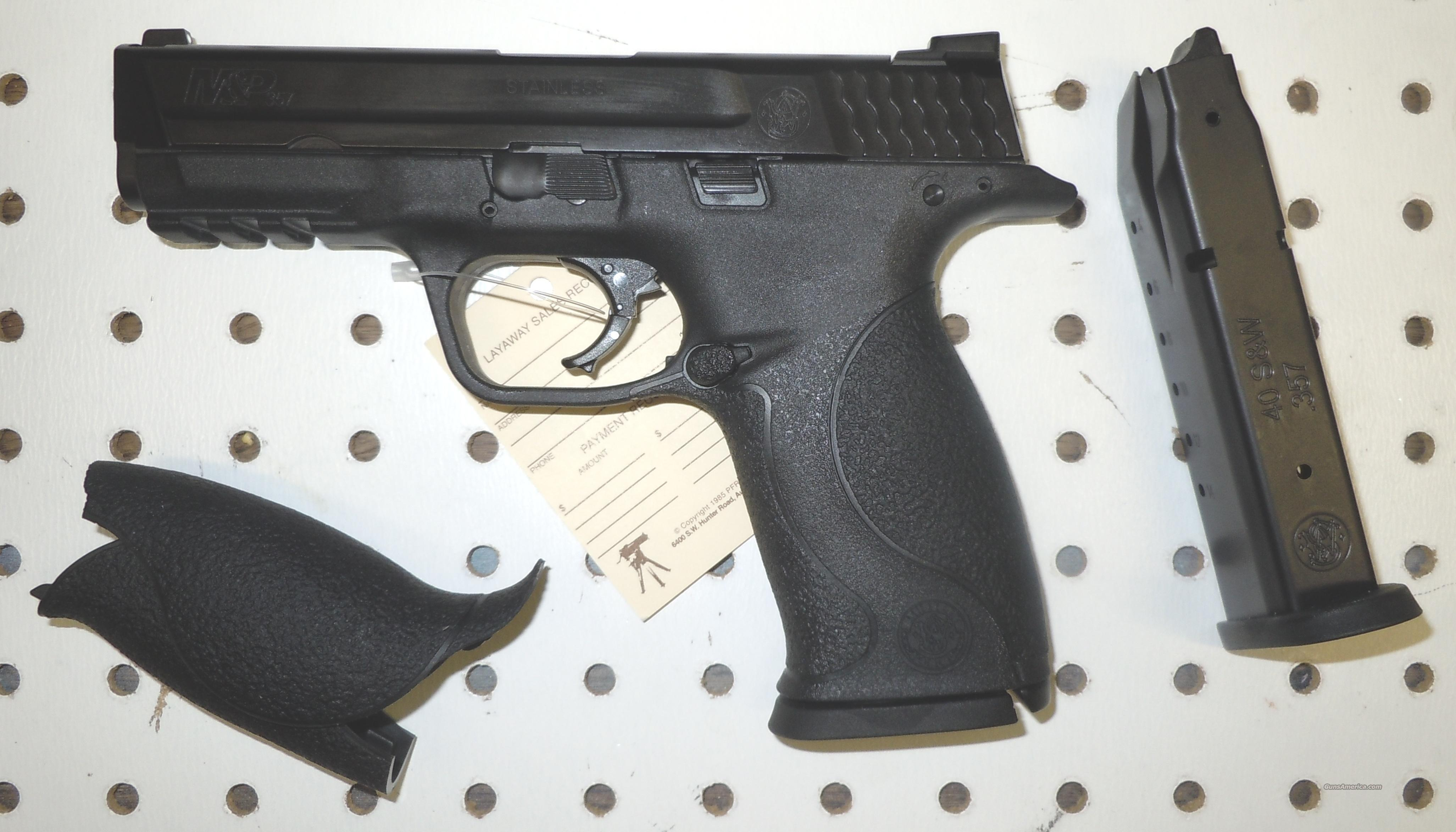 SMITH & WESSON M&P 357 SIG DUTY SIZE PISTOL (30... for sale