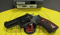 "Ruger HGP-331-NVK (01753) 3"" 357 Mag 6 RD Wyle Clap Model Grip Custom w/ Grooves for fingers"