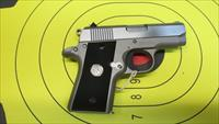 "COLT MUSTANG POCKETLITE .380ACP STAINLESS PISTOL 2 6 ROUND MAGAZINES WITH 2.75"" BARREL"
