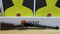 "HENRY REPEATING ARMS, H001Y .22S/L/LR YOUTH LEVER ACTION RIFLE, 12 LR/ 16 S CAPACITY TUBE FED, 16"" BARREL"