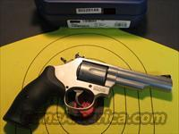 "SMITH & WESSON MODEL 66-8 MATTE STAINLESS 4"" 357 MAGNUM (162662)"
