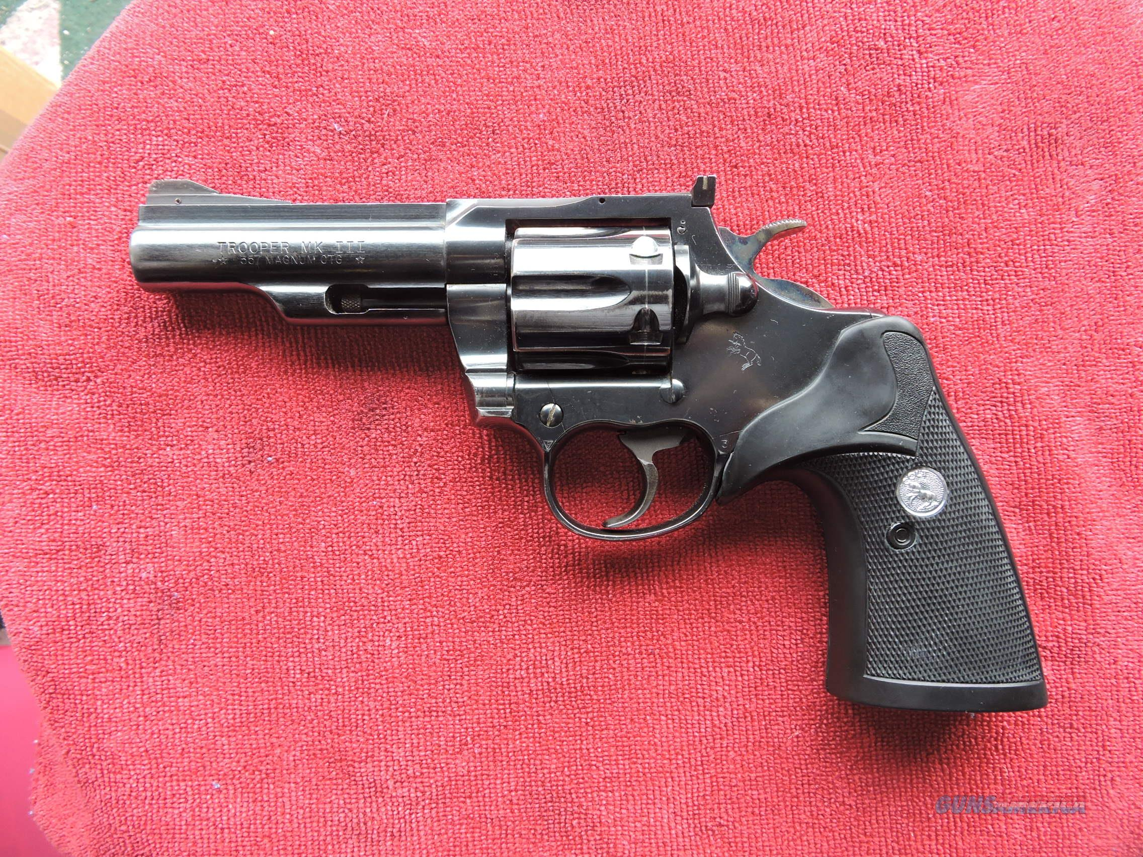 colt trooper mk 3 holster
