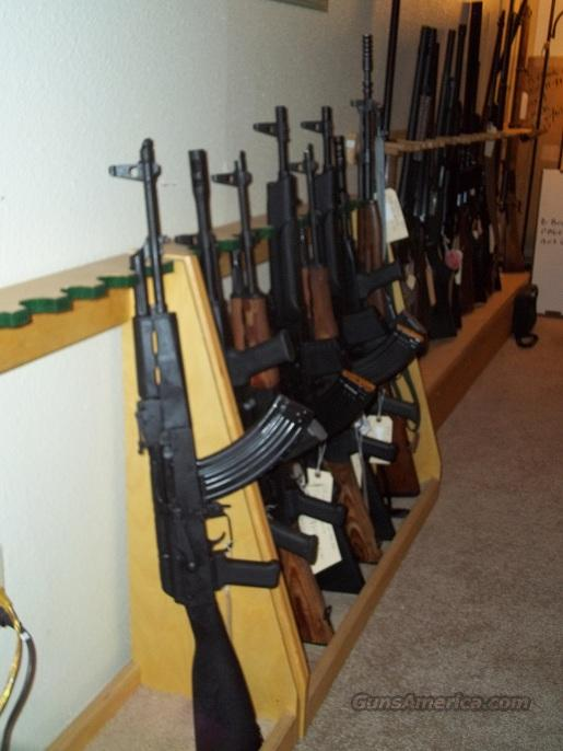 AK-47 GP- WASR-10/63 7 62x39 Black But Stock & Front hand grip & Crome  Lined Barrel & one 30rd mag$575 00