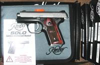 Kimber SOLO, Rosewood Grips, Two Tone, 9mm, NIB
